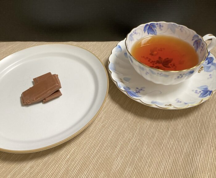 紅茶 ダージリン チョコ