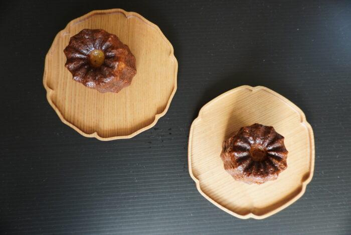木皿 菓子皿 カヌレ