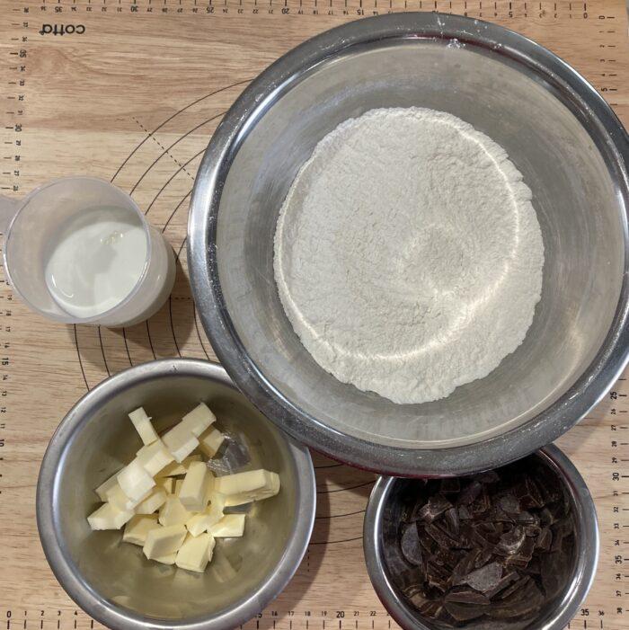 チョコスコーン レシピ